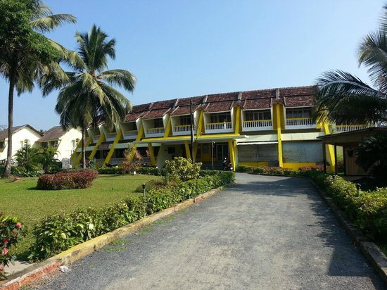 Colva Residency: View from entry gate