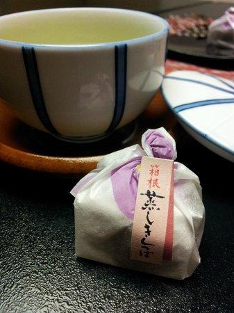Hotel Senkei: Dessert and green tea