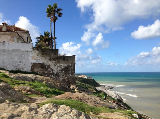 Tangier Casbah: A view from the Roman Cemetery
