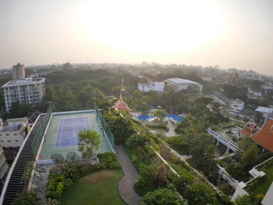 Shangri-La Hotel, Chiang Mai: View from Room 1007 balcony