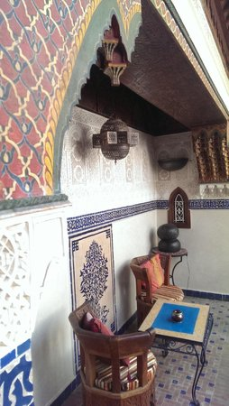 Riad Dar al Kounouz : Decor on the lounge