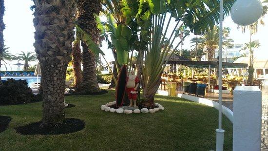 Sol Lanzarote All Inclusive : Father Christmas at Sol Lanzarote - Dec 2013   : )
