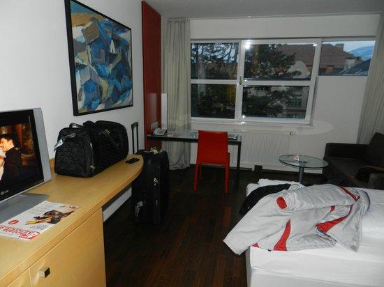 Austria Trend Hotel Congress Innsbruck : Habitación y vista