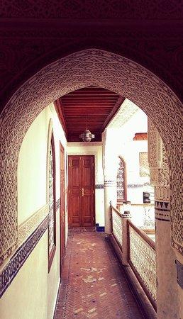 Riad Dar Al Kounouz: alley