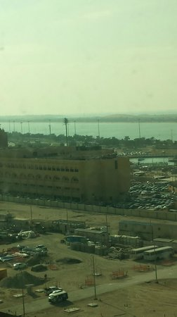 Al Diar Capital Hotel : View from 13th floor - not my room