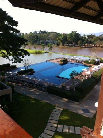 Le Meridien Chiang Rai Resort: Blick vom Hotelzimmer