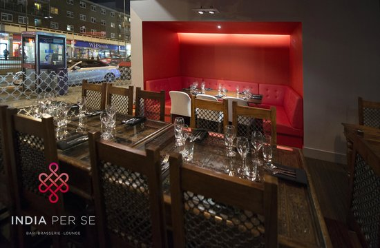 INDIA Per Se: Private Dining Booth