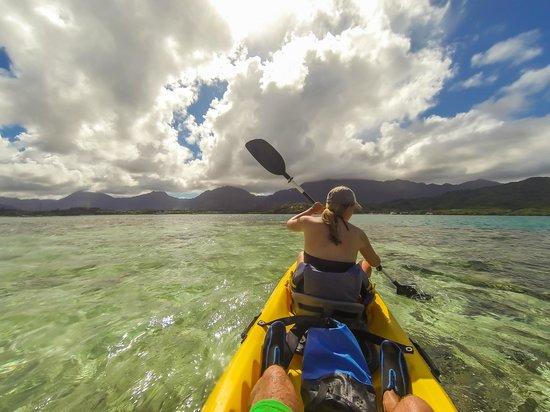 Holokai Kayak and Snorkel Adventure: Kane'ohe Bay paddle