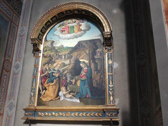 Cathedral (Duomo di Gubbio): 1513 giuliano presutti - nativita'
