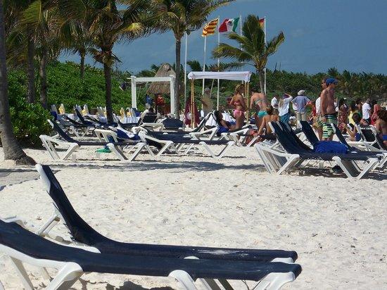 Grand Palladium Colonial Resort & Spa : great beach