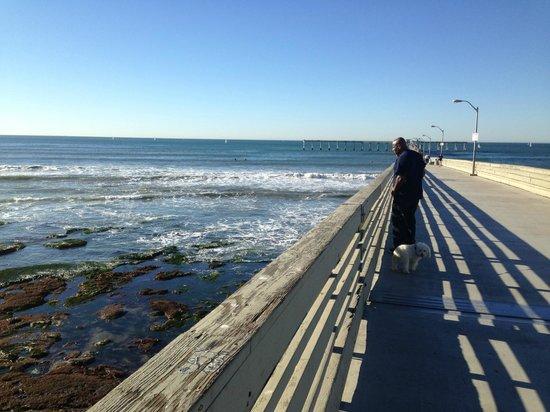 Ocean Beach Hotel: Pier