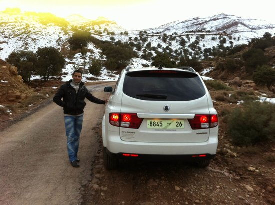 Easy Take Transport: our driver khalid