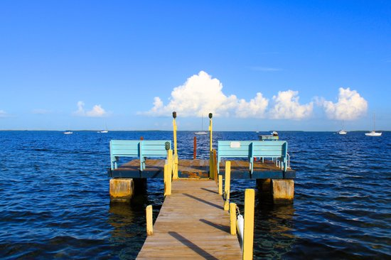 Sunset Cove Beach Resort: Our Dock