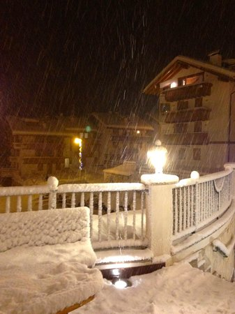 Hotel Alpenrose: Nevicata di Natale