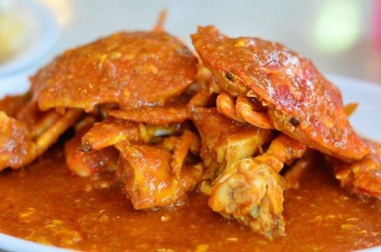 DeHappy Seafood Restaurant: singapore chilli crab