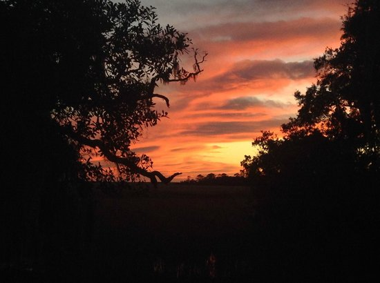 The Lodge on Little St. Simons Island: Sunset on LSSI