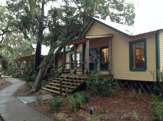 The Lodge on Little St. Simons Island : Main lodge exterior view