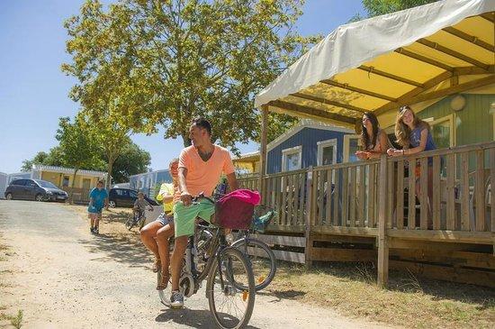 Camping Campeole La Redoute : Mobile home La Redoute
