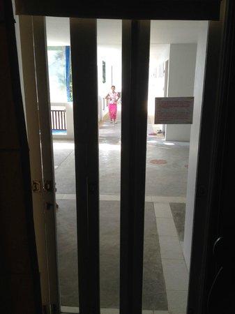 Koh Tao Montra Resort & Spa: Zo kijkt iedereen bij je naar binnen