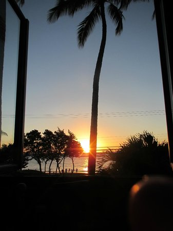 Moose McGillycuddy's: Took this sunset photo from my table at Moose's