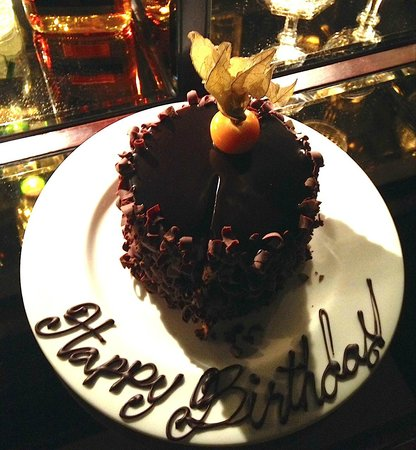 Gramercy Park Hotel: Happy Birthday from the hotel!