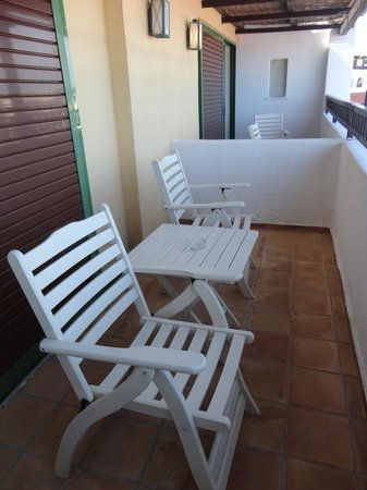 Creta Maris Beach Resort: Balcony in the main building