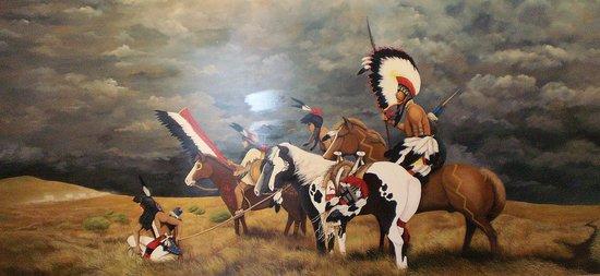 Museum of Native American History : Mural