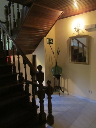 Casa Amadora: коридор