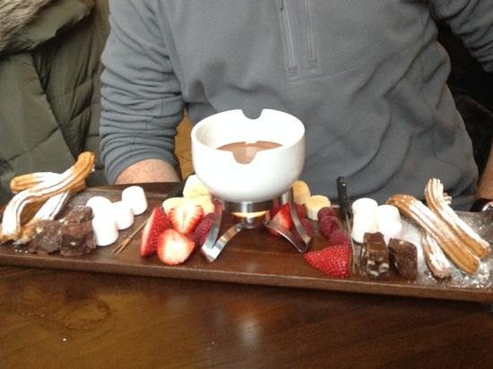 So coco: Chocolate Fondue for Two