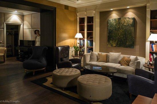 Hotel Villa Honegg: Il salotto