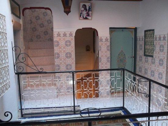 Hotel Aday: Camerette al primo piano.
