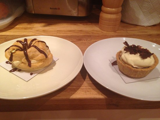 Sugar Therapy: Passionfruit choux and banana cream pie