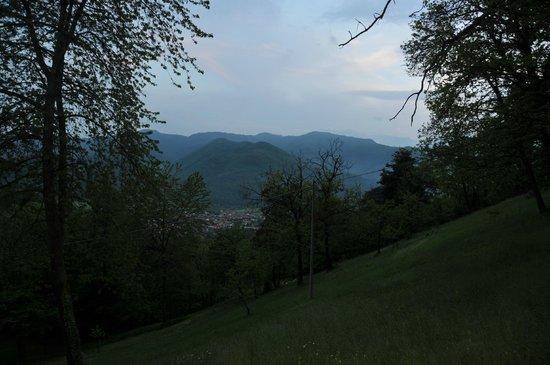 Il Picco : Vue sur les Alpes