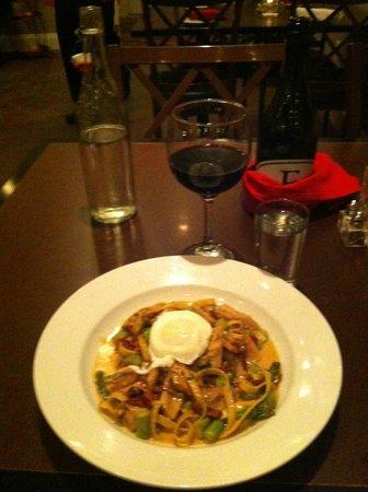 Emporium A Dining Destination: Fettuccine Carbonara at the Emporium