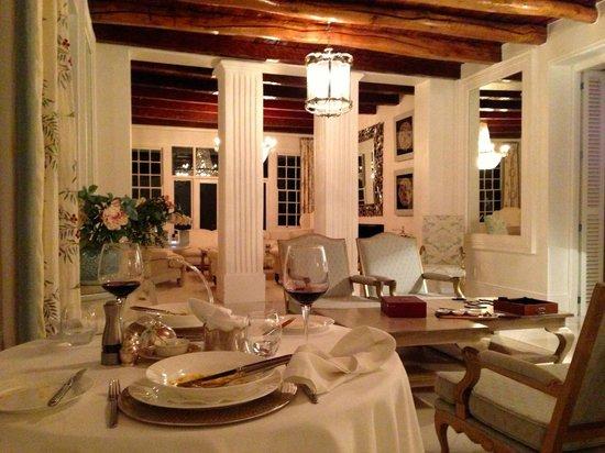 Grand Dedale Country House : Romantisches Abendessen im Innenbereich