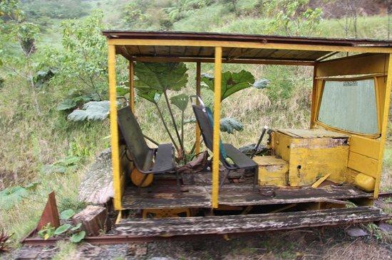 Monteverde TrainForest : Old Rail Car
