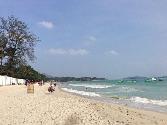 Buri Rasa Village Samui : Пляж