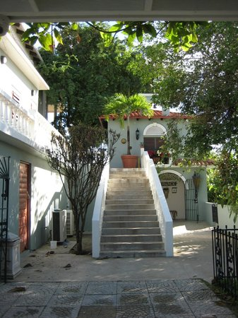 Hacienda Tamarindo: entrance