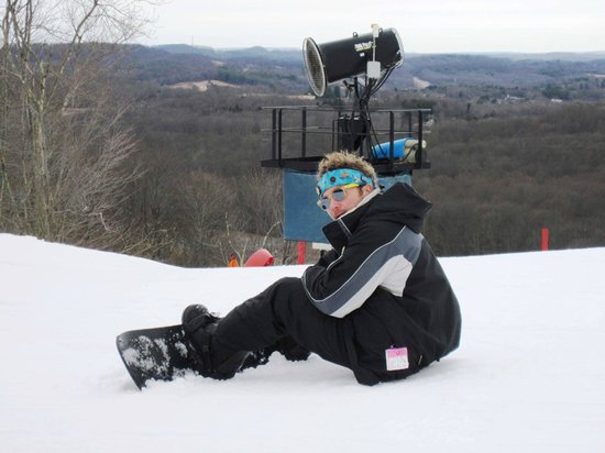 Winterplace Ski Resort: Great views!