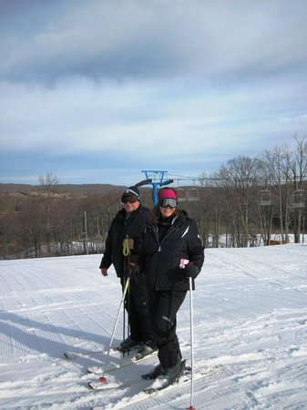 Winterplace Ski Resort: Blue slopes are better than greens!