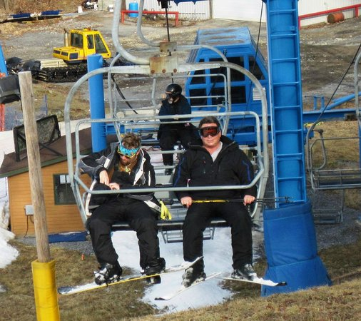 Winterplace Ski Resort: lift to the top