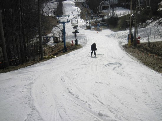 Winterplace Ski Resort: Nice and wide!
