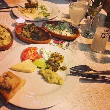 Kirkinca Arsipel Restaurant: Arşipel'de rakı bir başka..