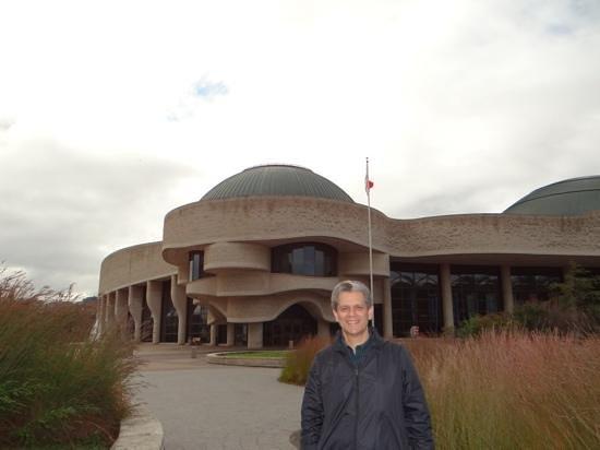 Canadian Museum of Civilization: visto por fora