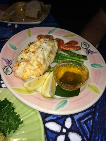 Mama's Fish House: Tristan Island Lobster - Best you've ever tasted!