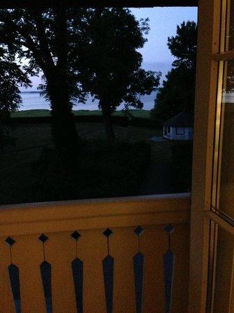Hotel Frederiksminde: Udsigt over Præstø fjorden