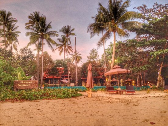 Chivapuri Beach Resort Koh Chang: Chivapuri Beach Resort depuis la plage !