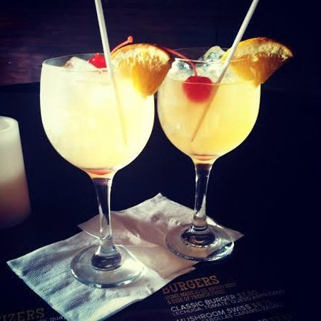 Old House Cafe: Passion Fruit Sangria