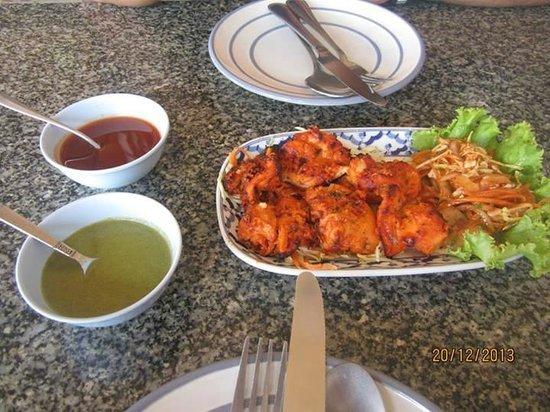 Tandoori Night's: Chicken Tandoori - the best I've ever had.