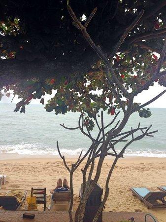 Baan Fah Resort Samui: Пляж